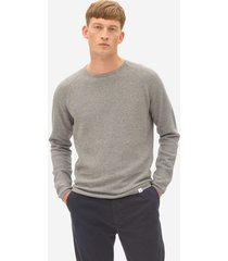 nowadays multi structure sweater mid grey nos004
