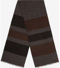 stripe scarf grey 1
