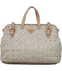 borsa donna a mano shopping woven satchel
