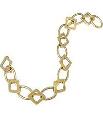 torrini designer bracelets, siena collection - 18k yellow gold link bracelet