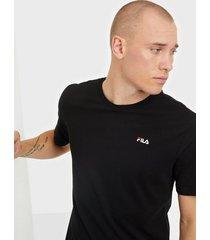 fila unwind 2.0 reg tee t-shirts & linnen black