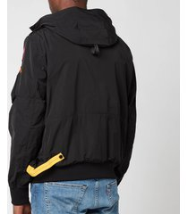 parajumpers men's gobi spring jacket - black - xxl