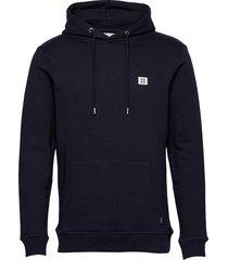 boozt piece hoodie hoodie trui blauw les deux