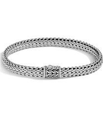 men's john hardy men's classic chain medium flat chain bracelet