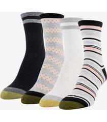 goldtoe women's 4-pk. multi texture midi socks