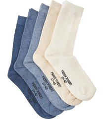 strumpor eco basic socks x5 women