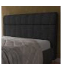 cabeceira box de casal madri com 160 cm de largura - js móveis