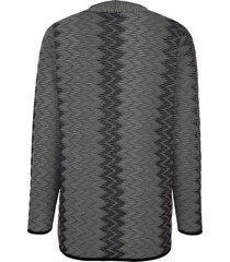 kofta m. collection svart::grå