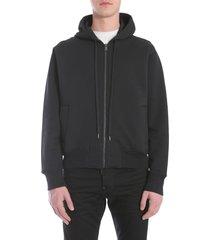 versace hooded sweatshirt with zip