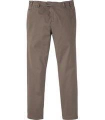 pantaloni chino con cinta comoda regular fit (verde) - bpc selection