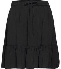 bymmjoella short skirt - kort kjol svart b.young
