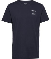 tretorn x makia t-shirt t-shirts short-sleeved blå tretorn