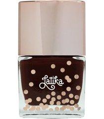 esmalte cremoso latika nail confetti wine nude