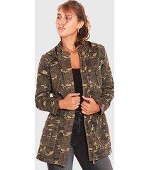 chaqueta wados con capucha multicolor - calce regular