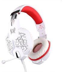 audífono diadema gamer g1100 gaming led vibración luces