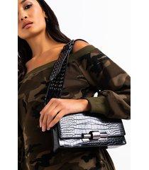 akira never let you go croc strap purse