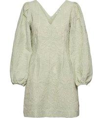 anai dress 13089 kort klänning grön samsøe samsøe