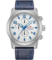 reloj armiforce 8011 cronografo - azul