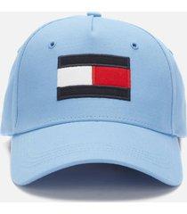 tommy hilfiger men's big flag cap - cornflower blue