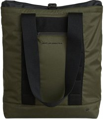 want les essentiels two-tone buckle-fastening tote bag - green