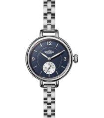 women's shinola birdy bracelet watch, 34mm