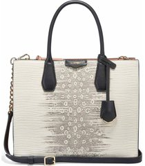 cartera maddol shopper blanco nine west