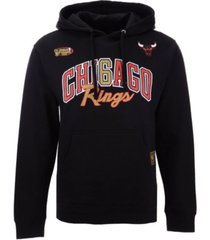 mitchell & ness men's chicago bulls chicago 6 ring collection hoodie