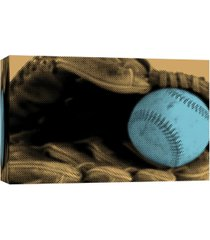 ptm images, baseball and glove ii decorative canvas wall art