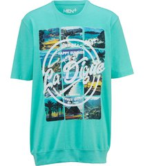 t-shirt men plus mint