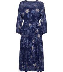 ospite maxiklänning festklänning blå max&co.