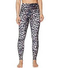 capri leopard-print extra high-rise ankle legging