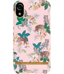 richmond & finch pink tiger case for iphone xr