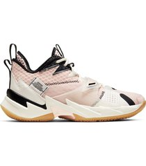 tenis baloncesto nike jordan hombre cd3003-600 rosa