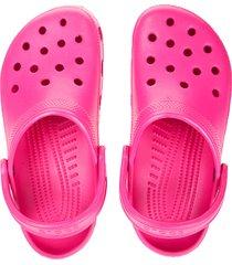 sandalia rosa crocs classic