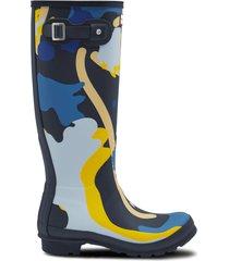 women's original tall rockpool camo rain boots