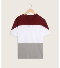 camiseta manga corta bloques con screen