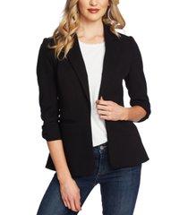 cece 3/4-sleeve bow-detail blazer