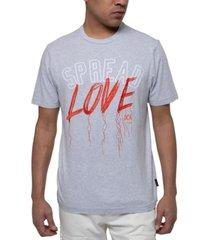 sean john men's spread love embroidered graphic t-shirt