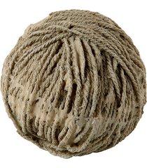 enfeite novelo de lã de resina decorativo lana