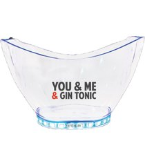 champanheira com led personalizada you&me and gin tonic - incolor - dafiti