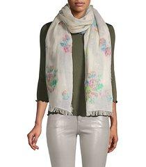 what a trip cotton scarf