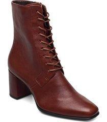 shape 60 squared shoes boots ankle boots ankle boot - heel brun ecco