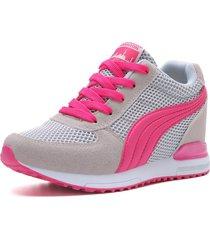 zapatos planos de plataforma para mujer zapatillas costuras de cuña