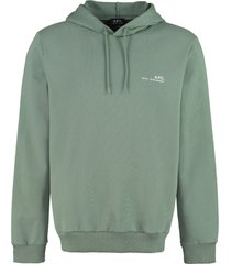 a.p.c. cotton hoodie