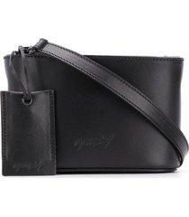 marsèll oval box crossbody bag - black