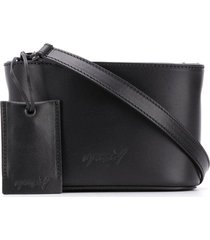 marsèll oval box crossbody bag - black