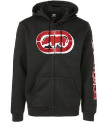 ecko unltd men's deep dimensions full zip hoodie