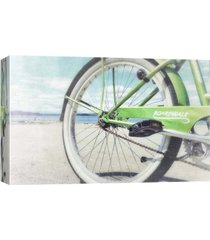 ptm images, alki beach ride decorative canvas wall art