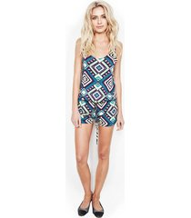 bello tank shorts romper - l mirage