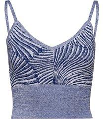 cortessa t-shirts & tops sleeveless blå baum und pferdgarten